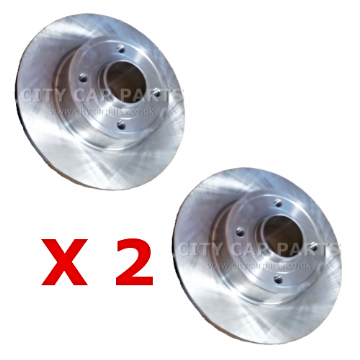 RENAULT TRAFIC 2001 TO 2014 REAR BRAKE DISCS 280MM SOLID (WITHOUT BEARING)